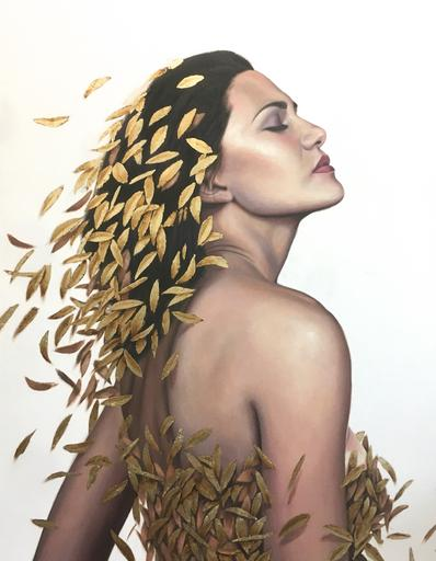 Gold Leaves ( Nature Girl)