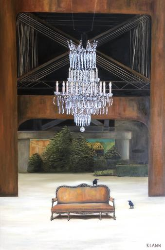Two Ravens and the Chandelier